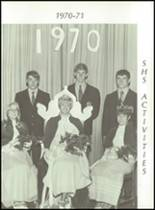 1971 Sherburn High School Yearbook Page 100 & 101