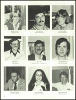 1984 Wahconah Regional High School Yearbook Page 18 & 19