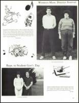 1984 Wahconah Regional High School Yearbook Page 38 & 39
