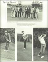 1984 Wahconah Regional High School Yearbook Page 118 & 119