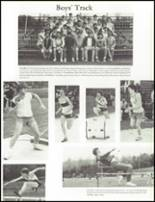 1984 Wahconah Regional High School Yearbook Page 124 & 125