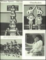 1984 Wahconah Regional High School Yearbook Page 126 & 127
