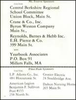1984 Wahconah Regional High School Yearbook Page 156 & 157