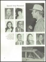 1972 McDowell High School Yearbook Page 34 & 35