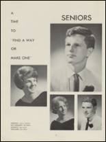 1964 Evergreen High School Yearbook Page 20 & 21