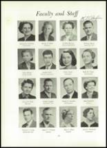 1951 Wilson High School Yearbook Page 24 & 25