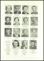 1951 Wilson High School Yearbook Page 26 & 27