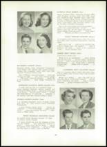 1951 Wilson High School Yearbook Page 48 & 49