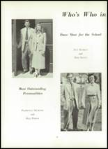 1951 Wilson High School Yearbook Page 82 & 83
