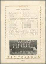 1931 Bayard High School Yearbook Page 16 & 17