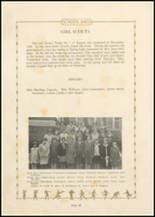 1931 Bayard High School Yearbook Page 24 & 25