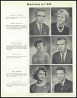 1962 Linn County High School Yearbook Page 10 & 11