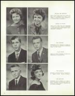 1962 Linn County High School Yearbook Page 14 & 15