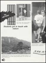 1990 Western Yell County High School Yearbook Page 18 & 19