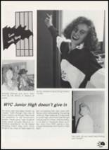 1990 Western Yell County High School Yearbook Page 34 & 35