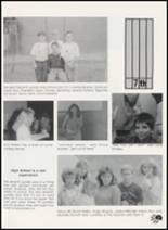 1990 Western Yell County High School Yearbook Page 42 & 43