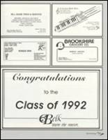 1992 Paris High School Yearbook Page 208 & 209
