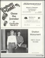 1992 Paris High School Yearbook Page 218 & 219
