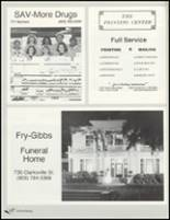 1992 Paris High School Yearbook Page 222 & 223