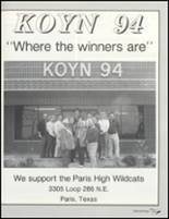 1992 Paris High School Yearbook Page 230 & 231