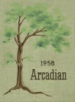 1958 Yearbook Arcadia High School