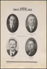 1922 Copan High School Yearbook Page 16 & 17