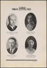 1922 Copan High School Yearbook Page 18 & 19