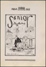 1922 Copan High School Yearbook Page 20 & 21