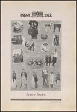 1922 Copan High School Yearbook Page 32 & 33
