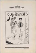 1922 Copan High School Yearbook Page 40 & 41