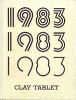 1983 Yearbook Claymont High School
