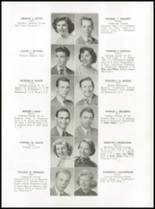 1952 Medford High School Yearbook Page 20 & 21