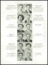 1952 Medford High School Yearbook Page 34 & 35