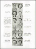 1952 Medford High School Yearbook Page 36 & 37