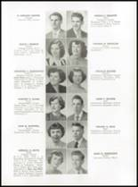 1952 Medford High School Yearbook Page 38 & 39