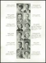 1952 Medford High School Yearbook Page 40 & 41