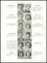 1952 Medford High School Yearbook Page 42 & 43