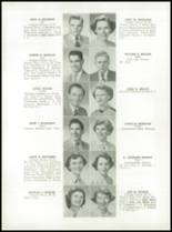 1952 Medford High School Yearbook Page 52 & 53