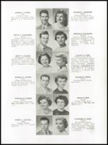 1952 Medford High School Yearbook Page 54 & 55