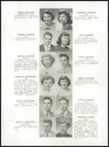 1952 Medford High School Yearbook Page 56 & 57