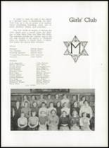 1952 Medford High School Yearbook Page 108 & 109