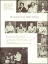 1953 Sanger High School Yearbook Page 40 & 41