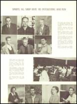 1953 Sanger High School Yearbook Page 42 & 43