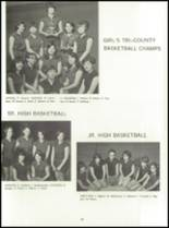 1968 Red Jacket Central High School Yearbook Page 62 & 63