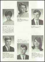 1968 Red Jacket Central High School Yearbook Page 68 & 69