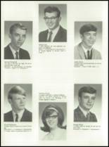1968 Red Jacket Central High School Yearbook Page 70 & 71