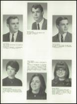 1968 Red Jacket Central High School Yearbook Page 72 & 73