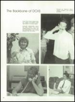 1988 Desert Christian High School Yearbook Page 22 & 23