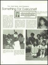 1988 Desert Christian High School Yearbook Page 34 & 35