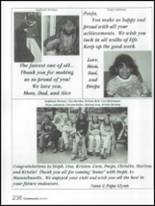 2002 Governor Mifflin High School Yearbook Page 242 & 243